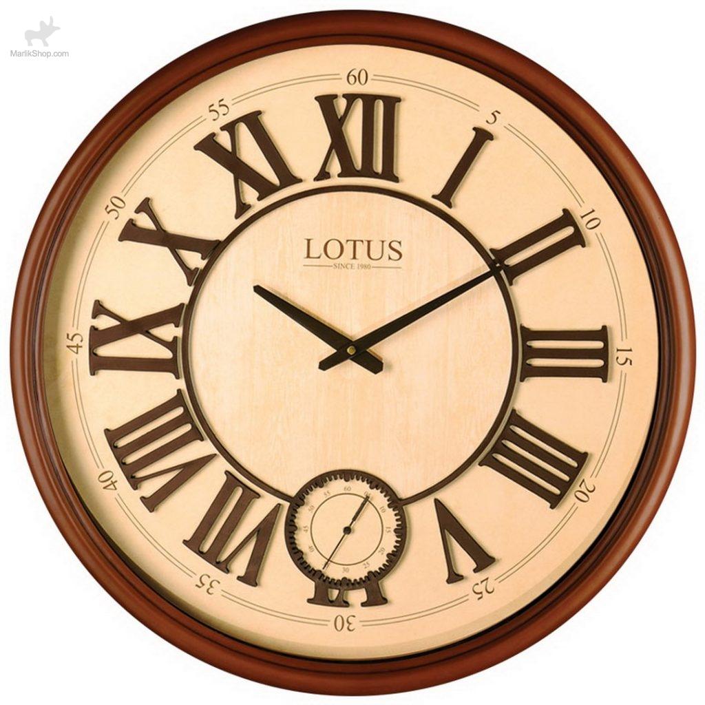ساعت چوبی لوتوس ATLANTA-151-WAL