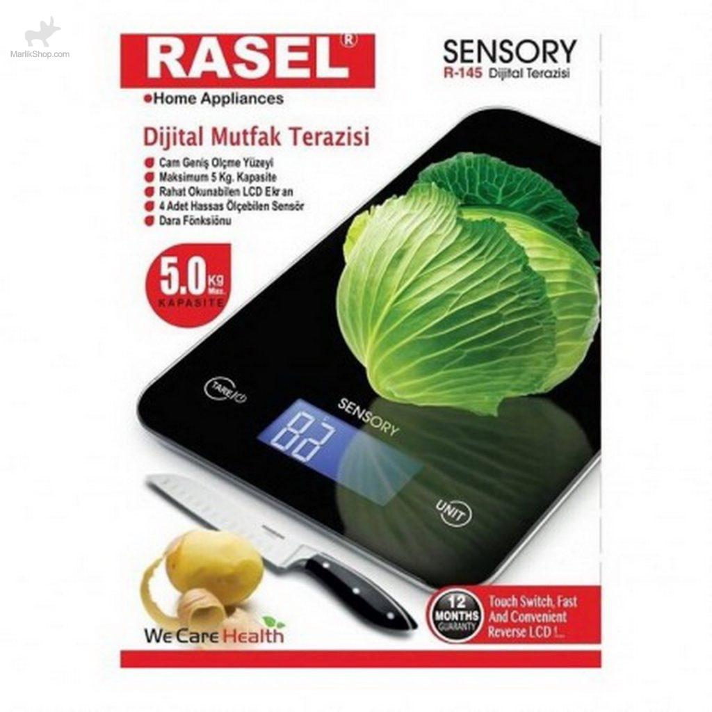 ترازوی آشپزخانه دیجیتال راسل مدل سنسوری مدل ۴۵