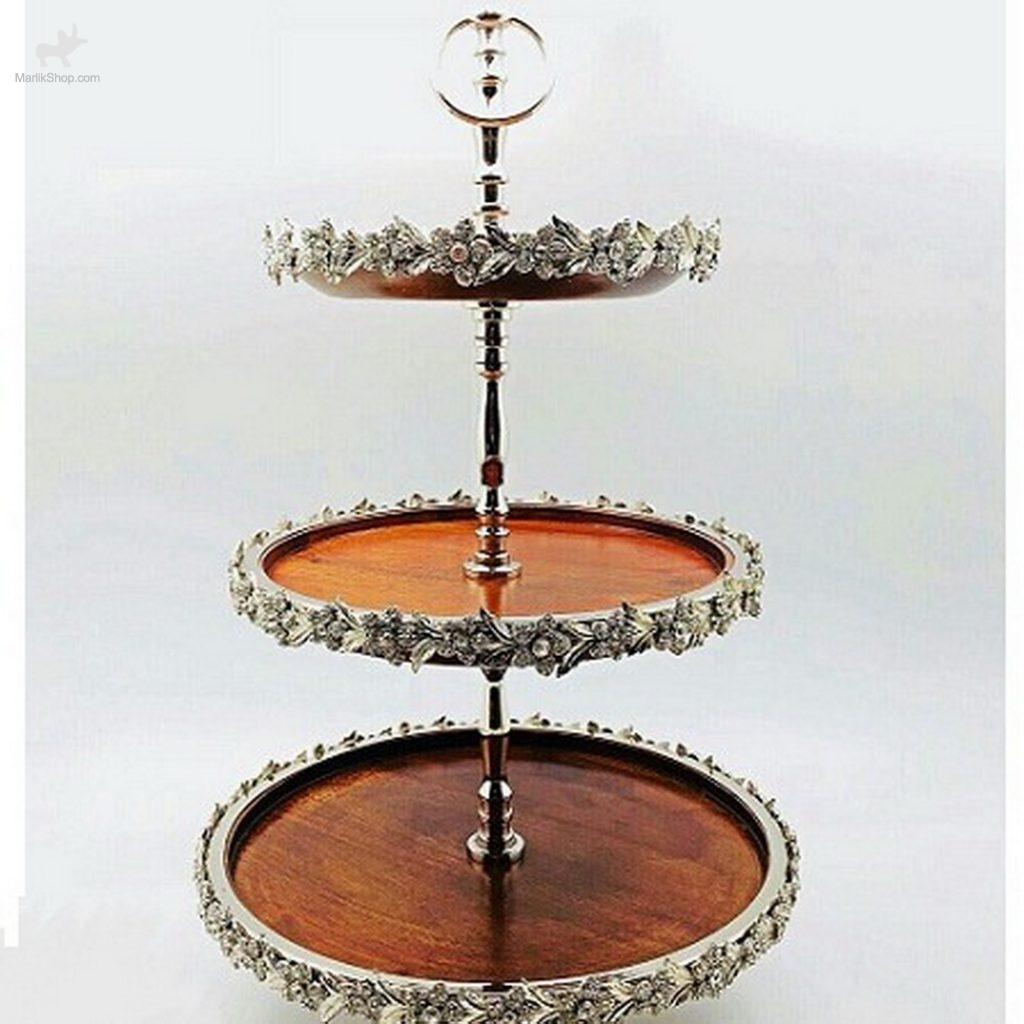 سارینا شیرینی خوری پایدار ۳ طبقه هندی مدل ۳۲۳۶