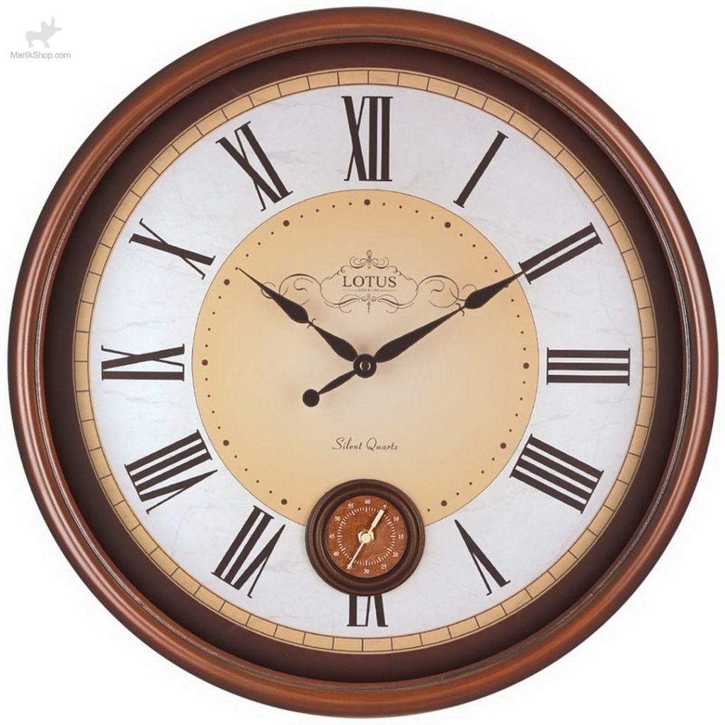 ساعت چوبی لوتوس BROWNSVILLE-252-S