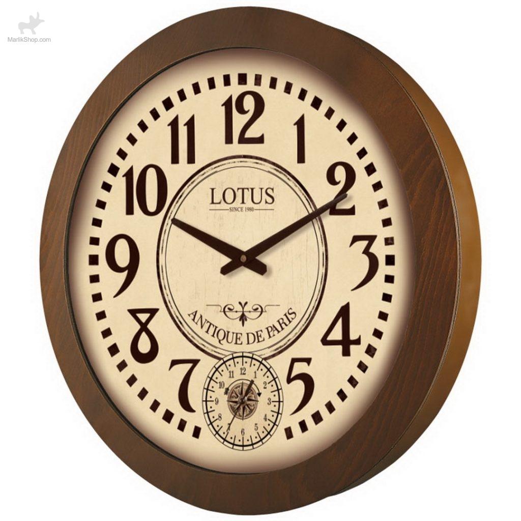 ساعت چوبی لوتوس SHERRILL W-9831