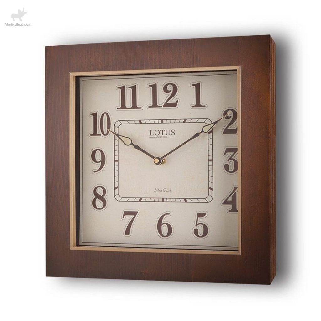 لوتوس ساعت دیواری چوبی مدل اسپرینگ فیلد ۹۹۱۳