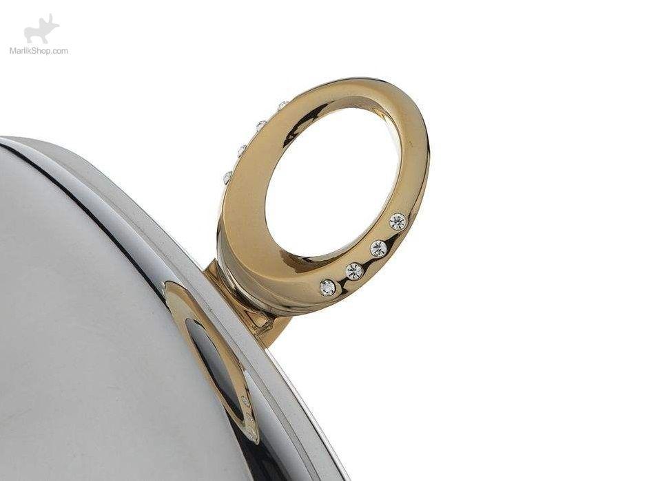 سوفله استیل مستطیل بزرگ طلایی سافینوکس مدل ۲۰۷