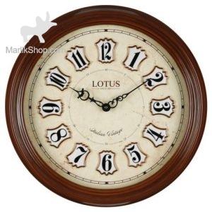 ساعت دیواری لوتوس چوبی ۷۰۳۳