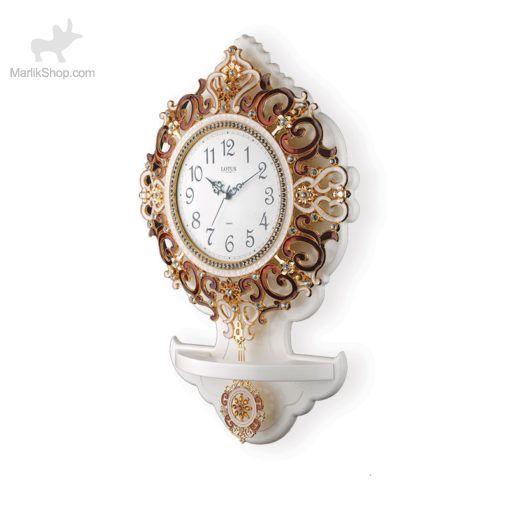 ساعت دیواری لوتوس چوبی ۰۰۹