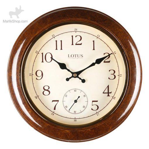 ساعت دیواری لوتوس چوبی ۶۰۳۴