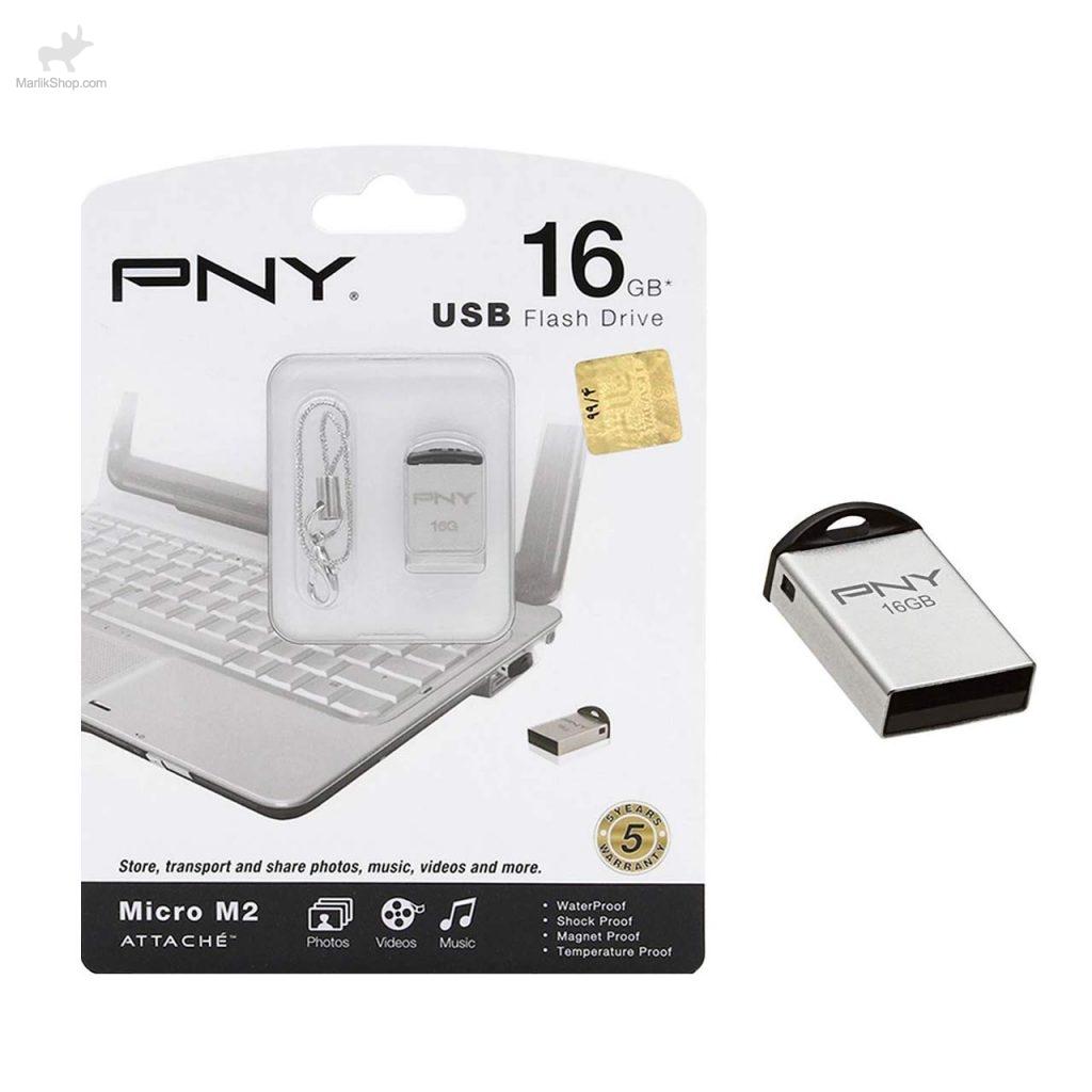 PNY Micro M2 Attache Flash Memory – 16GB