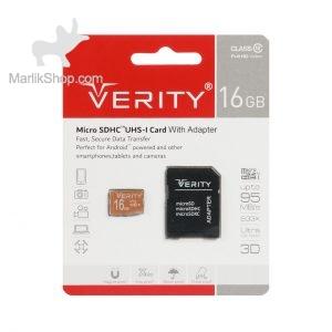 Verity Ultra microSDHC & adapter UHS-I U1 Class 10 FULL HD-95MB/s-16GB (گارانتی آسان سرویس)