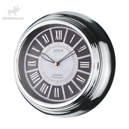 لوتوس ساعت دیواری فلزی مدل دکستر کد M-4005