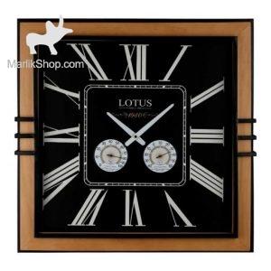 لوتوس ساعت دیواری چوبی کد WM-5021