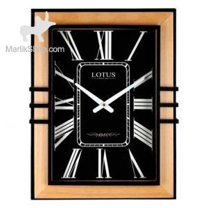 لوتوس ساعت دیواری چوبی کد WM-5022