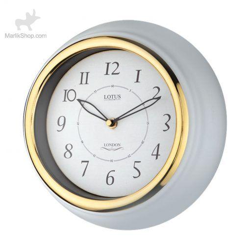 لوتوس ساعت دیواری فلزی کد M-4009