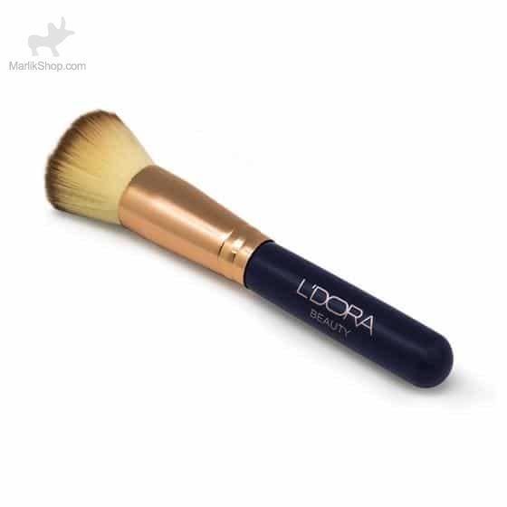 قلم مو مخصوص پنکیک و کرم پودر حرفهای لدورا