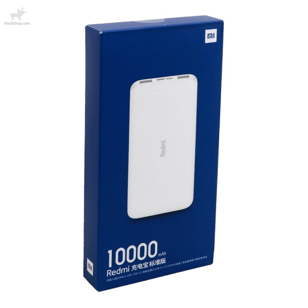 پاور بانک ۱۰۰۰۰ میلی آمپر شیائومی ورژن چین مدل Redmi PB100LZM