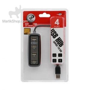 هاب ۴ پورت USB2.0 ـ XP Product مدل XP-H846C