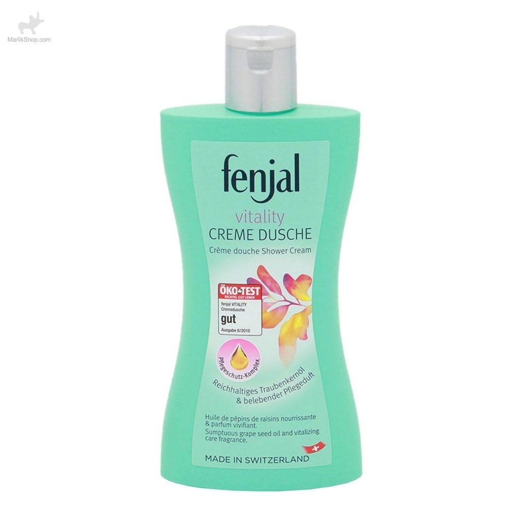 شامپو بدن انواع پوست Fenjal Vitality Cream Dusche