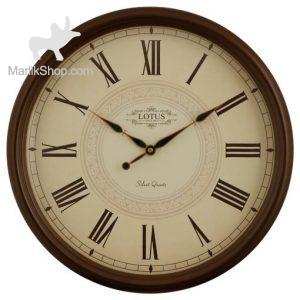 ساعت دیواری چوبی لوتوس مدل PANAMA کد ۳۵۴