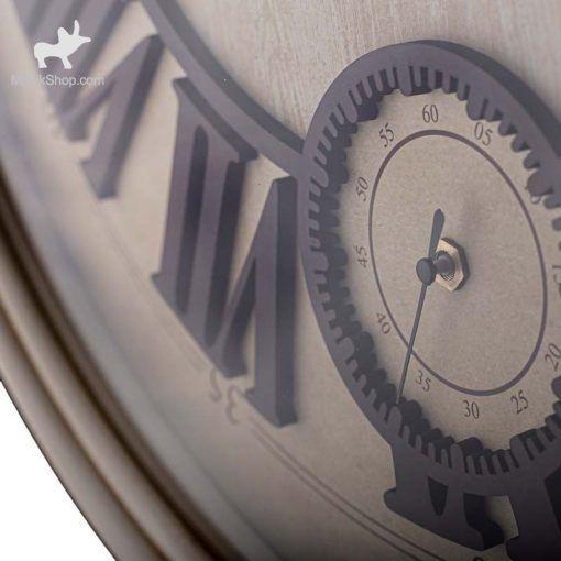 ساعت دیواری چوبی  لوتوس مدل ATLANTA کد WAL-151