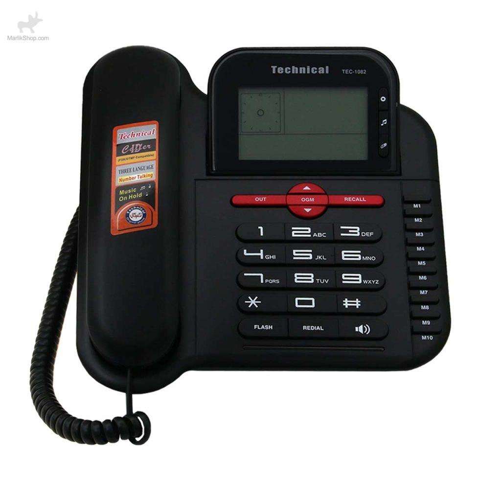 تلفن رومیزی تکنیکال۱۰۸۲ TEC-
