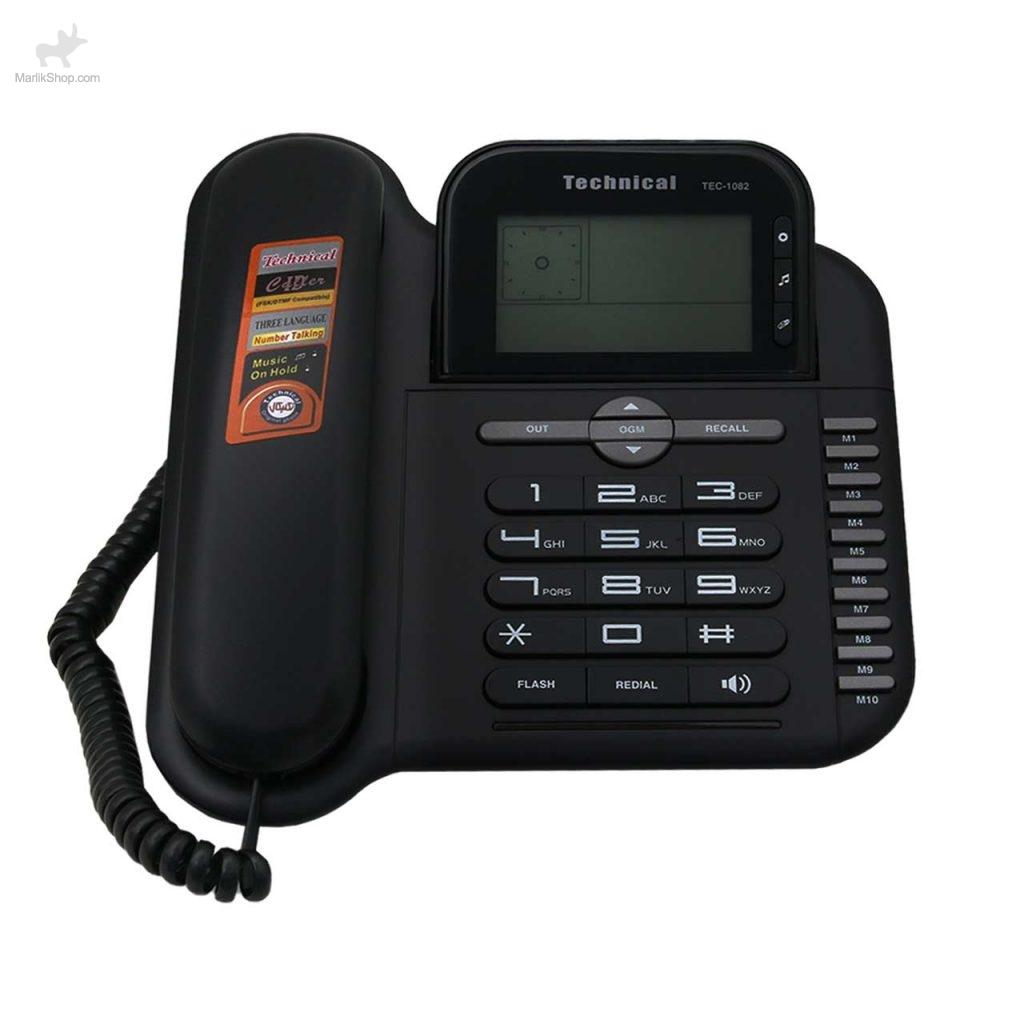 تلفن رومیزی تکنیکال TEC-1082