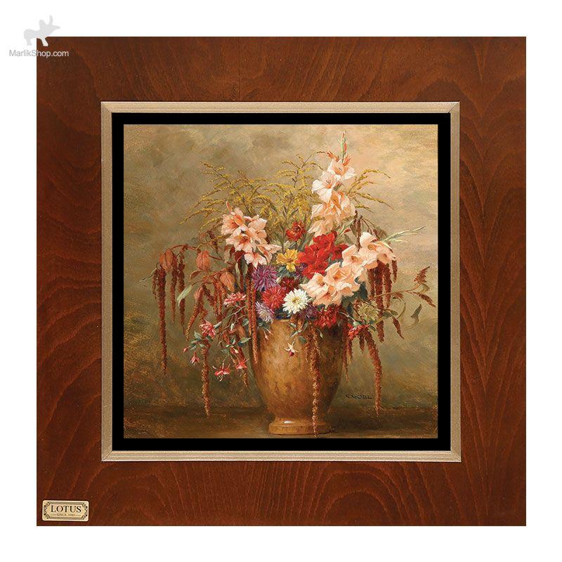 تابلو نقاشی  لوتوس کد FWB-60X60-D