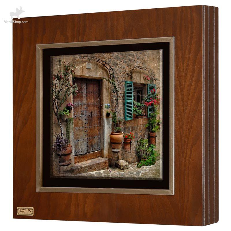 تابلو نقاشی لوتوس کد FWB-60X60-F
