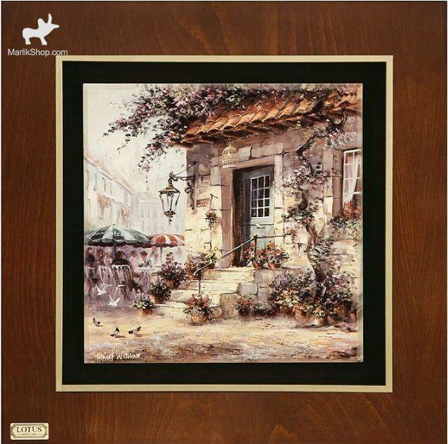 تابلو نقاشی  لوتوس کد FWB-60X60-G