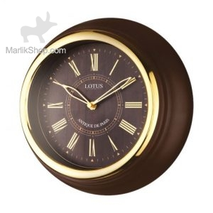 ساعت دیواری لوتوس فلزی مدل۴۰۰۶