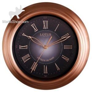 ساعت دیواری لوتوس فلزی مدل ۴۰۰۲