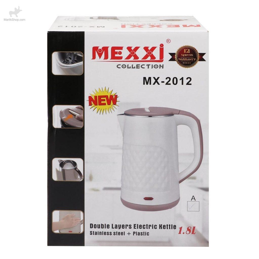 کتری برقی MEXXi مدل MX-2012-مشکی سفید