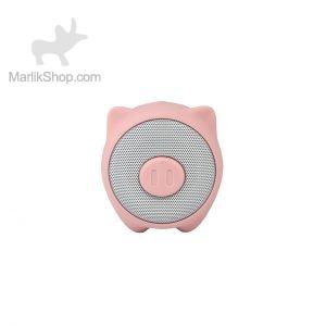 اسپیکر بی سیم Baseus مدل Pig E06-صورتی