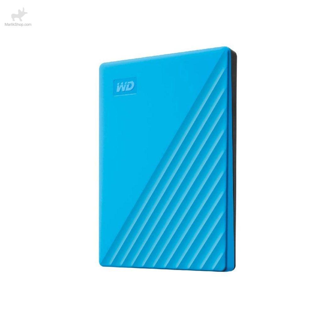 هارد اکسترنال Western دیجیتال مدل My Passport WDBPKJ0040BBL-WESN ظرفیت ۴TB-آبی