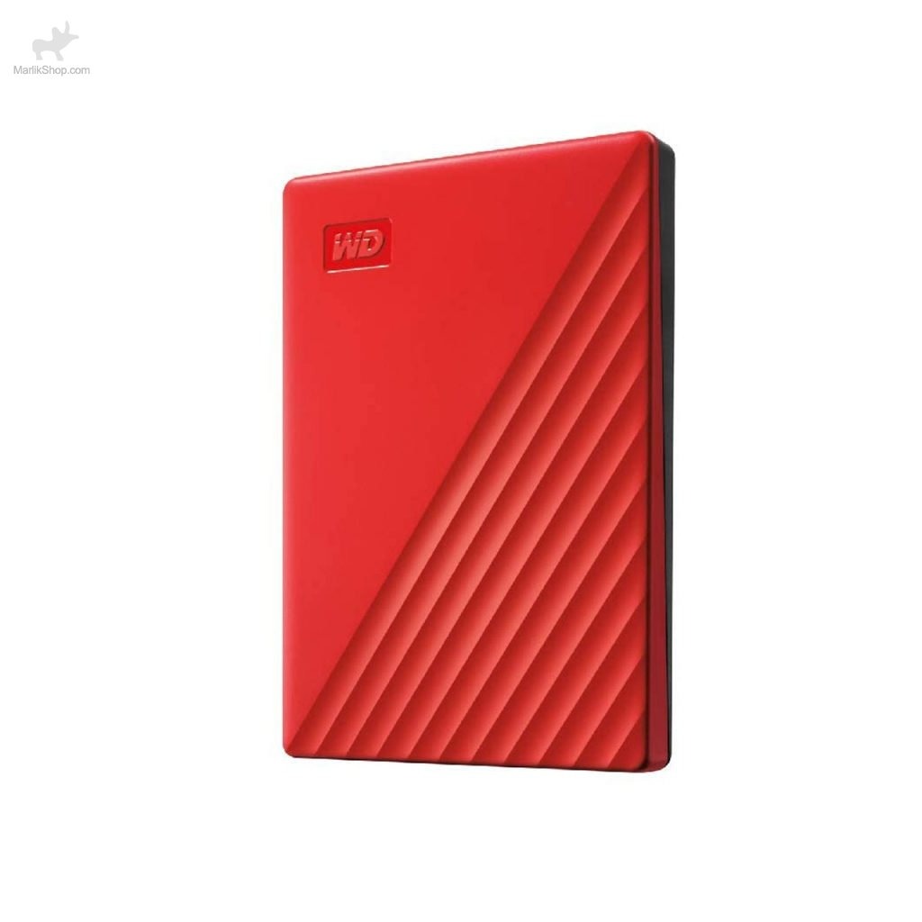 هارد اکسترنال Western دیجیتال مدل My Passport WDBPKJ0040BRD-WESN ظرفیت ۴TB -قرمز